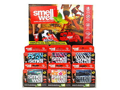 Smell Well Insert Pouches (set of 2) #Blue Leopard