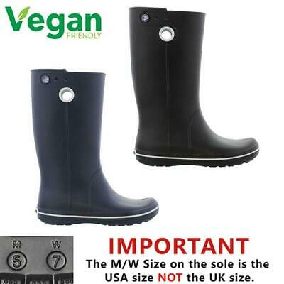 a4a02f014f447f Crocs Wellys Crocband Jaunt Wellies Womens Wellington Boots Size 4-8