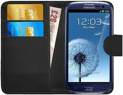 G-Shield® Luxury Leather Magnetic Flip Wallet Case Cover For Samsung Galaxy S3