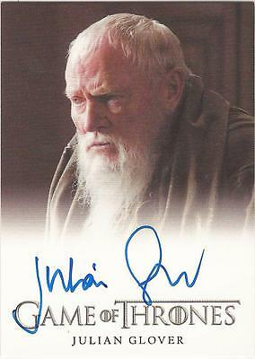 "Game of Thrones Season 3 - Julian Glover ""Maester Pycelle"" Autograph Card"
