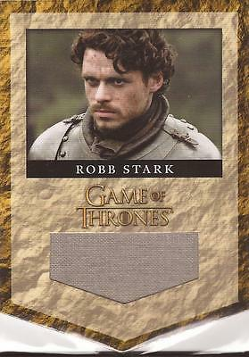"Game of Thrones Season 2 - RS3 ""Robb Stark"" Relic Card #245/375, Smooth"