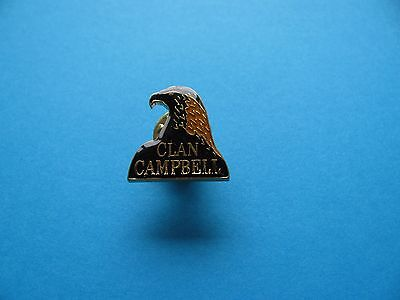 Scotch Whisky Pin Badge. Clan Campbell. Whiskey.