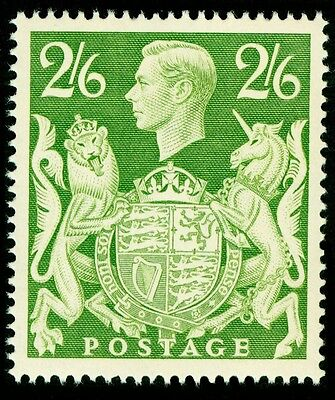 Sg476b, 2s 6d yellow-green, UNMOUNTED MINT. Cat £15.