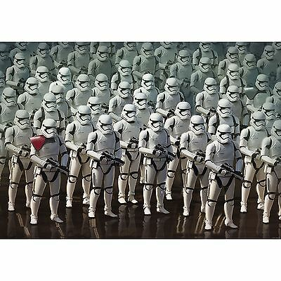 STAR WARS WALLPAPER WALL MURAL 254 x 184cm FORCE AWAKENS STORMTROOPERS DECOR