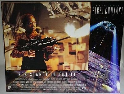 Star Trek First Contact 1996 UK Mini Poster Original Lily showing what she