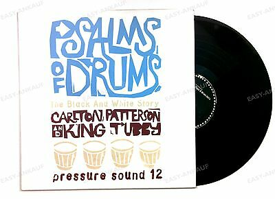 Psalms Of Drums: The Black And White Story UK LP 1996 Reggae Dub King Tubby //1