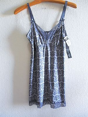 Womens Plus Size 1X or 2X or 3X Chemise Lingerie Clothes NWT New $36 Delta Burke