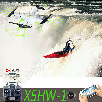 Altitude Hold 360° X5HW-1 RC Drones Quadcopter FPV W/ Wifi Camera 2.4G 4CH 6Axis