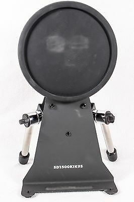 Simmons S1500 Pro Kick Pad and Stand with Chrome Legs