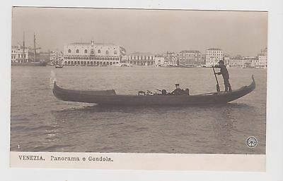 Venice-Gondola On Grand Canal X 1 Only (Approx 1900-1910)Antique Postcard