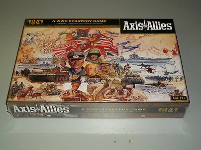 AXIS & ALLIES 1941!!  A WWII Strategy Game! New + Still Sealed!!