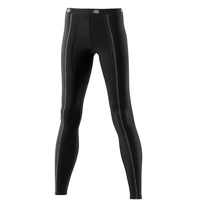 Skins Snow Women's Long Compression Tights Black/Silver Small