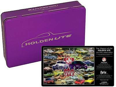 9325 Holden Ute Purple History Of 1000 Piece Jigsaw Puzzle In Collectable Tin