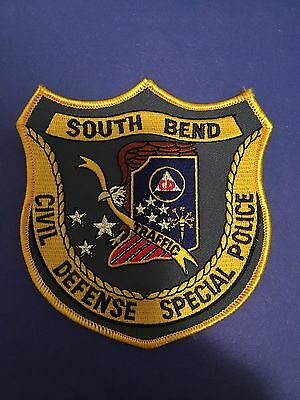 South Bend Civil Defense Special  Police Shoulder Patch