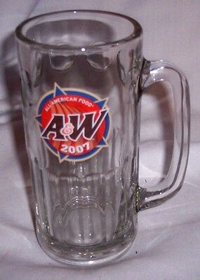 2007 A&w Root Beer Mug And A&w Fanily Restaurant With Bear Hugging Glass