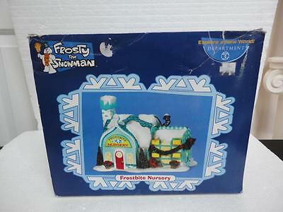 Department 56 Frosty the Snowman Village Collection FROSTBITE NURSERY Rare!