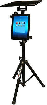 DF136 Tripod Adjustable Stand with iPad holder For Laptop Computer Projector NEW