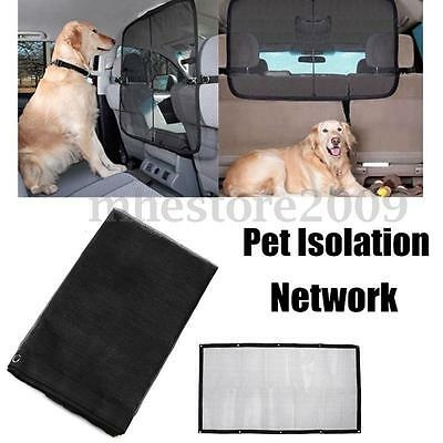 Pet Dog Safety Travel Isolation Net Car Truck Van Back Seat Dog Barrier Mesh New