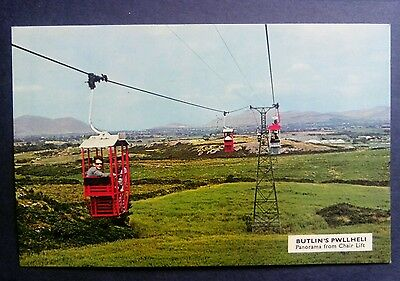 Butlins Pwllehi Wales Panorama from Chair Lift 1975 Real Butlins Photo