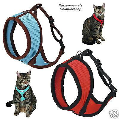 Cat harness with leash Cats garnish High Wearing Comfort Soft harness