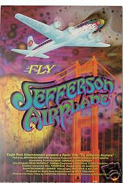 JEFFERSON AIRPLANE Poster Hot Tuna Members Movie Poster For Fly RANDY TUTEN