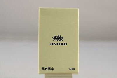 Jinhao Black International Ink Refills x 5, Brand New
