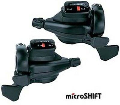 Microshift Gear Tap Trigger Shifter Pods 8 Speed Shifters Gears MTB Bicycle Bike