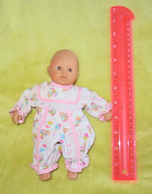 """ZAPF Creations Mini 8"""" Chou Baby DOLL Rattle Stained Face Dolly TOY Handheld"""