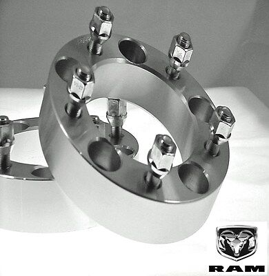 4 Pc 2002-2011 DODGE RAM 1500 Wheel Spacers 2.00 Inch # AP-5550E9/16-4