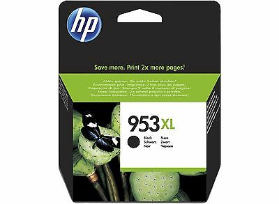 Genuine HP 953XL Black Ink L0S70AE Cartridge For OfficeJet Pro 7740 8210 VAT inc