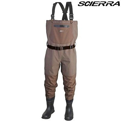 Scierra Cc3 Xp Bootfoot Breathable Chest  Waders  With Cleated Sole