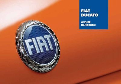 Owners Handbook Manual - Fiat Ducato 244 2002-2006 60345682 New & Genuine