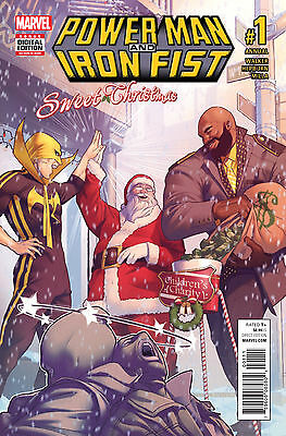 POWER MAN AND IRON FIST SWEET CHRISTMAS ANNUAL #1 (MARVEL 2016 1st Print) Comic
