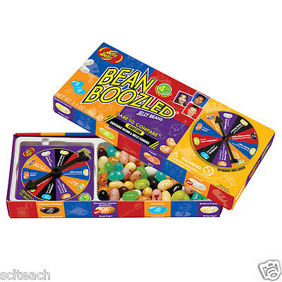Brand New 3.5 oz Bean Boozled Jelly Belly Jelly Beans. Spinner Game 4th EDITION
