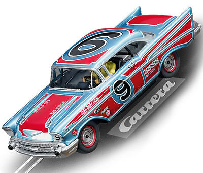 Carrera 27526 57 Chevy Bel Air Oval Racer New Evolution 1/32 Slot Car
