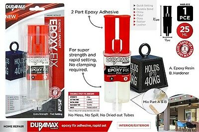 Epoxy Glue Super High Strength Repair Kit Quick Setting Brand New