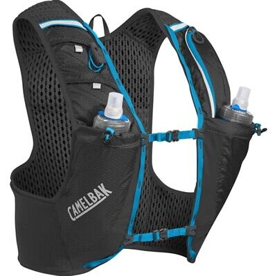 Camelbak Ultra Pro Trail Running Hydration Vest .5L - Quick Stow -Black/ Blue [V