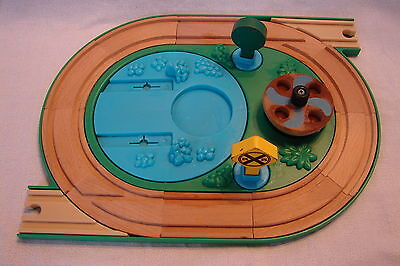 Thomas Train Learning Curve Wooden Early Engineers Roundabout Rock Quarry Base