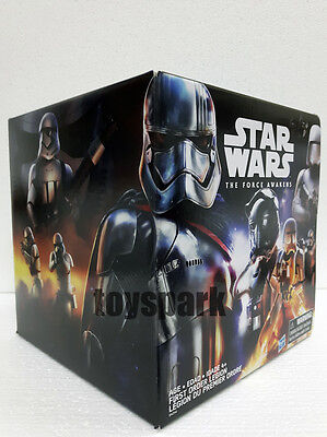 "STAR WARS 3.75"" The Force Awakens FIRST ORDER LEGION TROOP BUILDER 7 P exclusive"