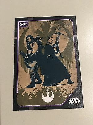 Star Wars - Rogue One (TOPPS collector cards) Sticker Art Insert Card #212.