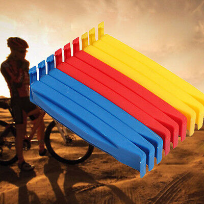 3x Bicycle Bike Mountain Tyre Tire Puncture Repair Lever Tool Plastic 3 Color