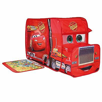 Disney Cars Pop Up Mack Truck Play Tent Wendy House New