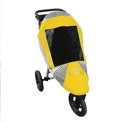 Petit Coulou - 3 Seasons Stroller Cover - Yellow