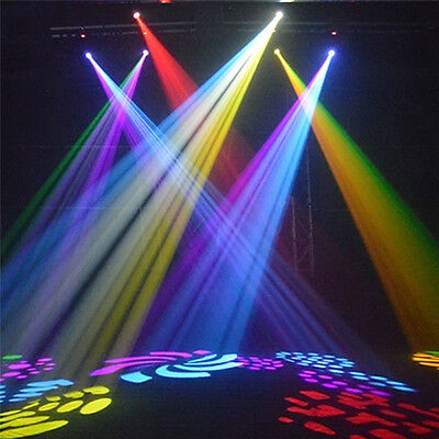 30W RGB LED MINI Moving Head Light 11CH DJ Disco Club Show Stage Lighting DMX