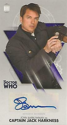 "Doctor Who Tenth Doctor Adventures: John Barrowman ""Captain Jack"" Autograph Card"