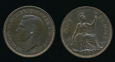 1937 George VI Proof - PENNY...Straight from Set...SUPERB....Fast Post
