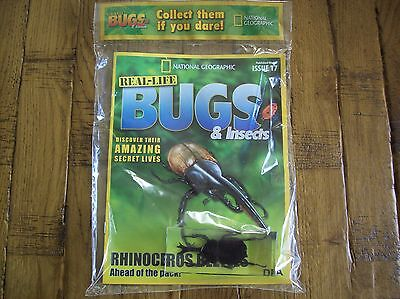 National Geographic Real-life Bugs & Insects magazine Issue 17
