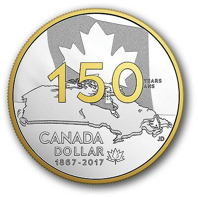 2017 Canada 150th Our Home and Native Land Special Edition Fine Silver Proof Set