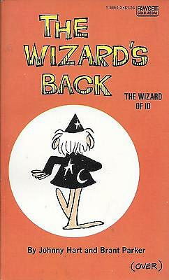 The Wizard Of Id: The Wizard's Back.Unread Mint Condition. Hart / Parker. PB