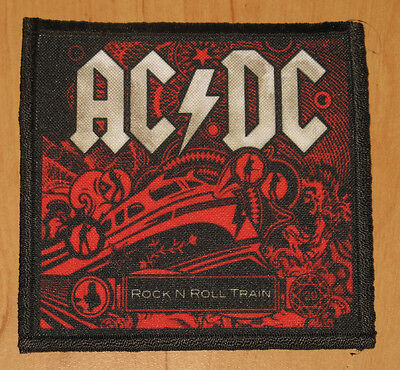 "AC/DC ""ROCK'N'ROLL TRAIN"" silk screen PATCH"